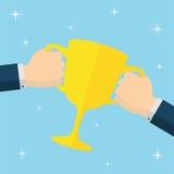 Prêmio do ouro Imagem de Stock Royalty Free