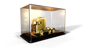 Prêmio do ouro do caminhão Foto de Stock