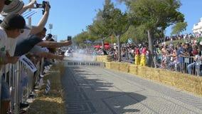 Prêmio grande da raça do Soapbox de 3 Red Bull em Lisboa filme