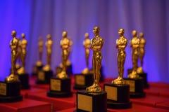 Prêmios dourados elegantes Fotografia de Stock Royalty Free