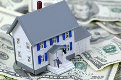 Prêt immobilier Images libres de droits