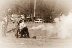 Prêt, but, incendie ! photo libre de droits