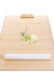 Prêt installé par massage pour la détente Photo libre de droits