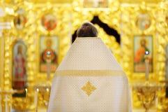 Prêtre chrétien orthodoxe images stock