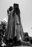 Prêtre dans le fractionnement Croatie photos stock