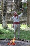 Prêtre de Maya Images stock