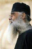 Prêtre orthodoxe grec, Jérusalem Image libre de droits