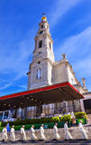 Prêtres célébration Mary Basilica du 13 mai de Madame de chapelet Fatima Portugal Photos libres de droits