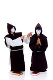 Prêtres de Veille de la toussaint Image stock