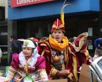 Príncipe Carnival Aalst 2018 fotos de stock royalty free