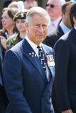 Príncipe Charles @ Bayeux Imagem de Stock