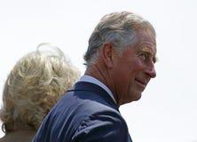 Príncipe Charles Perfil Saint John foto de stock royalty free