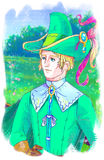 Príncipe Charming ilustração do vetor
