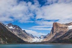 Príncipe Christian Sound, Groenlandia Imágenes de archivo libres de regalías