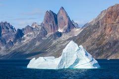 Príncipe Christian Sound, Gronelândia Fotografia de Stock