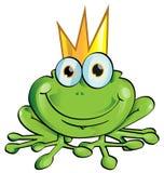 Príncipe da rã ilustração royalty free