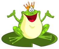 Príncipe de la rana stock de ilustración