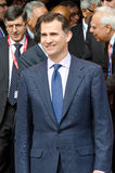 Príncipe Don Felipe de Borbón imagen de archivo libre de regalías