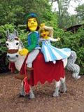 Príncipe e Pricncess de Lego imagem de stock royalty free