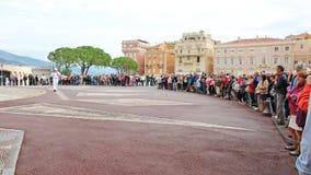 Príncipe Edward Palace Crowd Imagens de Stock Royalty Free