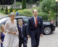Príncipe Edward y Sophie, condesa de Wessex Imágenes de archivo libres de regalías