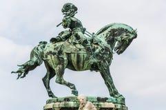Príncipe Eugene da estátua de Savoye foto de stock royalty free