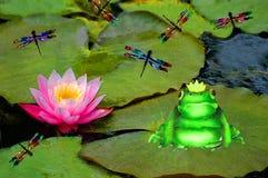 Príncipe Frog Foto de archivo libre de regalías
