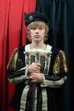 Príncipe joven del siglo XVIII foto de archivo