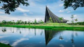 Príncipe Mahidol Hall El pasillo magnífico como el lugar apropiado para el ceremon de la graduación Fotografía de archivo