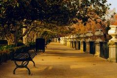Príncipe Park em Aranjuez Fotografia de Stock Royalty Free