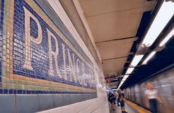 Príncipe St Station imagens de stock