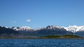 Príncipe William Sound Landscape Fotografia de Stock