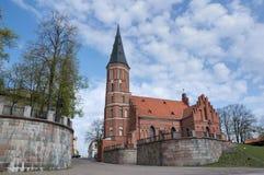 Príncipe Witold Igreja, Lithuani Foto de Stock