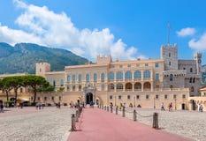 Príncipes Palace de Mónaco Fotografía de archivo