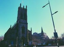 Príncipes Rua, Edimburgo fotos de stock royalty free