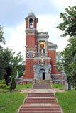 príncipes Svyatopolk-Mirsky do Igreja-túmulo em Bielorrússia Foto de Stock Royalty Free