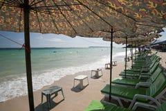Pròxima, ilha do Lan, Pattaya, Tailândia fotos de stock royalty free