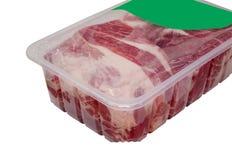 Próżnia pakuje dla mięsa Zdjęcie Stock