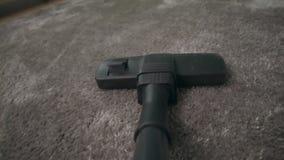 Próżniowy czysty POV hoovering dywan zbiory wideo
