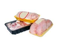 Próżniowy obwód pakuje dla mięsa Zdjęcie Royalty Free