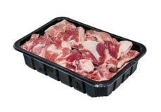 Próżniowy obwód pakuje dla mięsa, wieprzowina Obraz Royalty Free