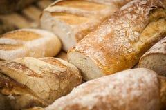 Próżnuje chleb na półce Fotografia Stock