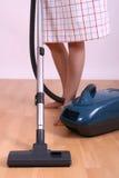 próżniowa cleaner kobieta Obraz Stock