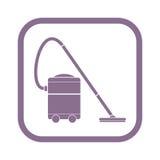 Próżniowego cleaner ikona Zdjęcia Stock
