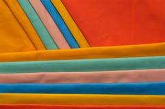 Próbek skóry różnorodni kolory Zdjęcia Royalty Free