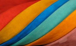Próbek skóry różnorodni kolory Fotografia Royalty Free