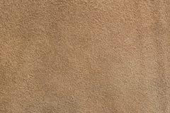 Próbka brown rzemienny płótno dla szyć Obrazy Royalty Free