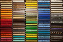 Próbki barwiący dywany zdjęcie royalty free