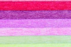 Próbki barwiony płótno grżą cienie zdjęcia stock