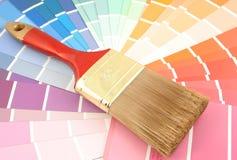 próbki farby Zdjęcie Stock